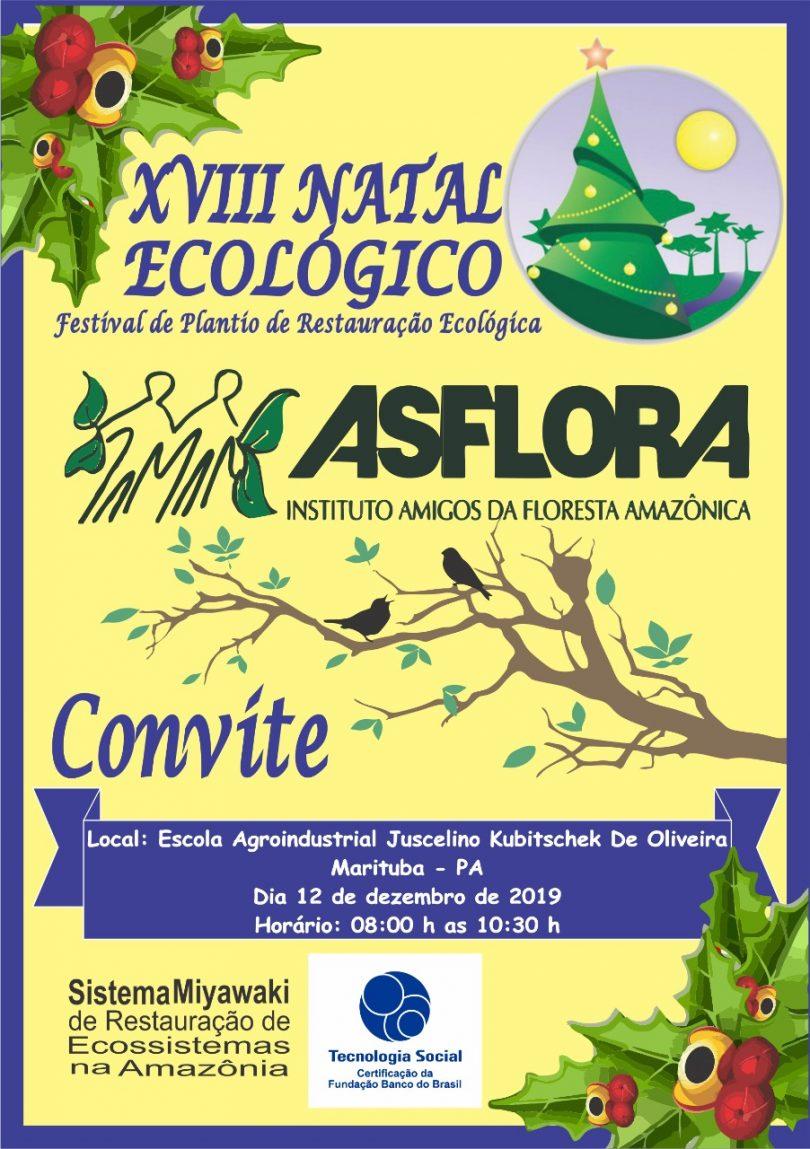 XVIII NATAL ECOLÓGICO – Festival de Plantio de Restauração Ecológica