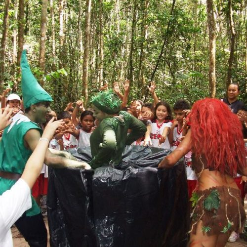 Teatro de floresta 4