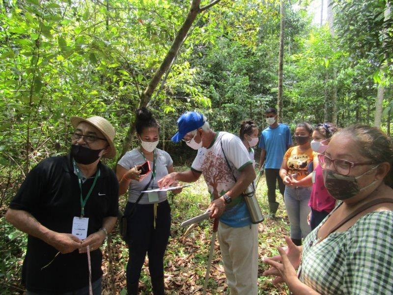 1° Curso de Sistemas Agroflorestais para formação de agentes ambientais